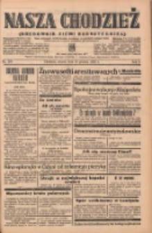 Nasza Chodzież: organ poświęcony obronie interesów narodowych na zachodnich ziemiach Polski 1938.12.13 R.9 Nr284