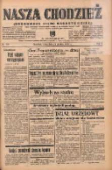 Nasza Chodzież: organ poświęcony obronie interesów narodowych na zachodnich ziemiach Polski 1938.12.14 R.9 Nr285