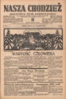 Nasza Chodzież: organ poświęcony obronie interesów narodowych na zachodnich ziemiach Polski 1938.12.25 R.9 Nr295