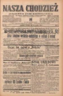 Nasza Chodzież: organ poświęcony obronie interesów narodowych na zachodnich ziemiach Polski 1938.12.29 R.9 Nr297
