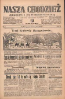 Nasza Chodzież: organ poświęcony obronie interesów narodowych na zachodnich ziemiach Polski 1939.01.06 R.10 Nr5