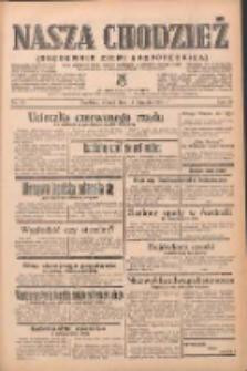 Nasza Chodzież: organ poświęcony obronie interesów narodowych na zachodnich ziemiach Polski 1939.01.17 R.10 Nr13