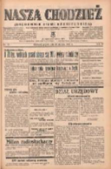 Nasza Chodzież: organ poświęcony obronie interesów narodowych na zachodnich ziemiach Polski 1939.01.20 R.10 Nr16