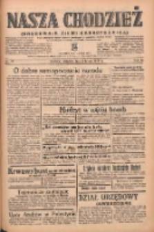Nasza Chodzież: organ poświęcony obronie interesów narodowych na zachodnich ziemiach Polski 1939.02.02 R.10 Nr27