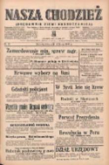 Nasza Chodzież: organ poświęcony obronie interesów narodowych na zachodnich ziemiach Polski 1939.02.22 R.10 Nr43