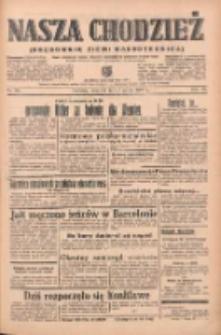 Nasza Chodzież: organ poświęcony obronie interesów narodowych na zachodnich ziemiach Polski 1939.03.02 R.10 Nr50