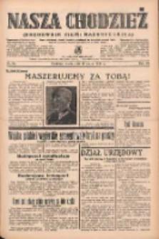 Nasza Chodzież: organ poświęcony obronie interesów narodowych na zachodnich ziemiach Polski 1939.03.18 R.10 Nr64