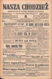 Nasza Chodzież: organ poświęcony obronie interesów narodowych na zachodnich ziemiach Polski 1939.03.25 R.10 Nr70