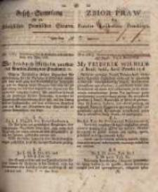 Gesetz-Sammlung für die Königlichen Preussischen Staaten. 1834 No7