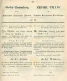 Gesetz-Sammlung für die Königlichen Preussischen Staaten. 1873.04.25 No10