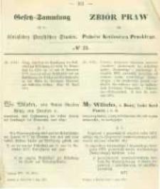 Gesetz-Sammlung für die Königlichen Preussischen Staaten. 1873.05.03 No12