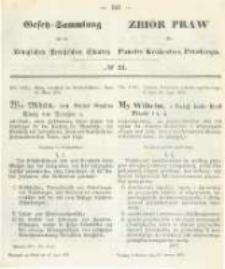 Gesetz-Sammlung für die Königlichen Preussischen Staaten. 1873.06.27 No24