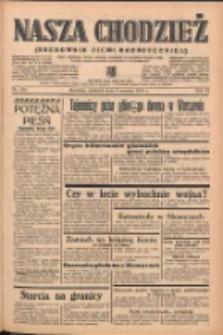 Nasza Chodzież: organ poświęcony obronie interesów narodowych na zachodnich ziemiach Polski 1939.06.08 R.10 Nr130