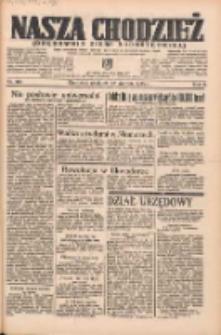 Nasza Chodzież: organ poświęcony obronie interesów narodowych na zachodnich ziemiach Polski 1935.08.25 R.6 Nr195