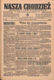 Nasza Chodzież: organ poświęcony obronie interesów narodowych na zachodnich ziemiach Polski 1935.08.27 R.6 Nr196