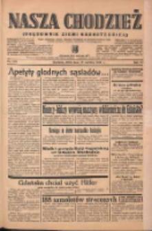 Nasza Chodzież: organ poświęcony obronie interesów narodowych na zachodnich ziemiach Polski 1939.06.28 R.10 Nr146