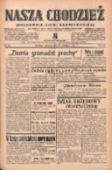 Nasza Chodzież: organ poświęcony obronie interesów narodowych na zachodnich ziemiach Polski 1939.04.20 R.10 Nr91
