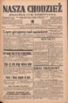Nasza Chodzież: organ poświęcony obronie interesów narodowych na zachodnich ziemiach Polski 1939.04.92 R.10 Nr93
