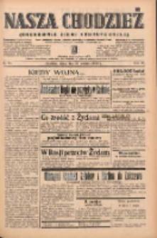 Nasza Chodzież: organ poświęcony obronie interesów narodowych na zachodnich ziemiach Polski 1939.04.28 R.10 Nr98
