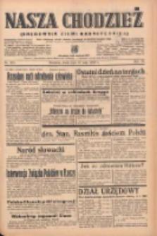 Nasza Chodzież: organ poświęcony obronie interesów narodowych na zachodnich ziemiach Polski 1939.05.10 R.10 Nr107