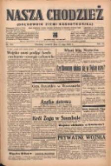 Nasza Chodzież: organ poświęcony obronie interesów narodowych na zachodnich ziemiach Polski 1939.05.11 R.10 Nr108