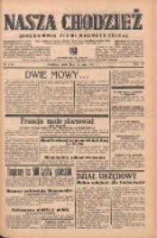 Nasza Chodzież: organ poświęcony obronie interesów narodowych na zachodnich ziemiach Polski 1939.05.17 R.10 Nr113
