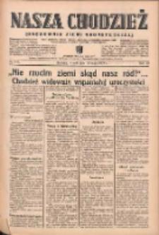 Nasza Chodzież: organ poświęcony obronie interesów narodowych na zachodnich ziemiach Polski 1939.05.23 R.10 Nr117