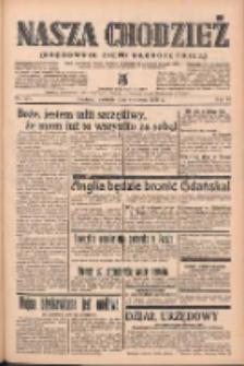 Nasza Chodzież: organ poświęcony obronie interesów narodowych na zachodnich ziemiach Polski 1939.06.04 R.10 Nr127