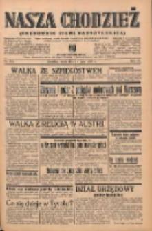 Nasza Chodzież: organ poświęcony obronie interesów narodowych na zachodnich ziemiach Polski 1939.07.19 R.10 Nr163