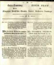 Gesetz-Sammlung für die Königlichen Preussischen Staaten. 1833 No9