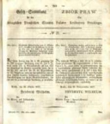 Gesetz-Sammlung für die Königlichen Preussischen Staaten. 1837 No21