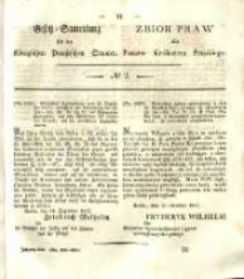 Gesetz-Sammlung für die Königlichen Preussischen Staaten. 1838 No2