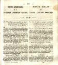 Gesetz-Sammlung für die Königlichen Preussischen Staaten. 1838 No22