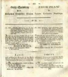 Gesetz-Sammlung für die Königlichen Preussischen Staaten. 1838 No28
