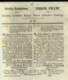 Gesetz-Sammlung für die Königlichen Preussischen Staaten. 1841 No19