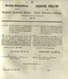 Gesetz-Sammlung für die Königlichen Preussischen Staaten. 1843 No27