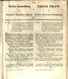Gesetz-Sammlung für die Königlichen Preussischen Staaten. 1857.02.18 No7