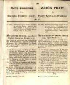 Gesetz-Sammlung für die Königlichen Preussischen Staaten. 1857.04.07 No17