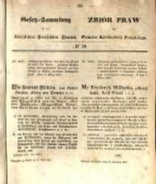 Gesetz-Sammlung für die Königlichen Preussischen Staaten. 1857.04.17 No19