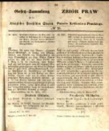 Gesetz-Sammlung für die Königlichen Preussischen Staaten. 1857.04.22 No20