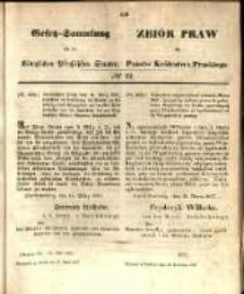 Gesetz-Sammlung für die Königlichen Preussischen Staaten. 1857.04.28 No22