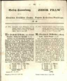 Gesetz-Sammlung für die Königlichen Preussischen Staaten. 1857.07.31 No40