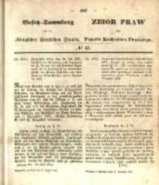 Gesetz-Sammlung für die Königlichen Preussischen Staaten. 1857.08.27 No45