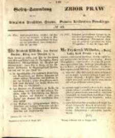 Gesetz-Sammlung für die Königlichen Preussischen Staaten. 1857.08.31 No46