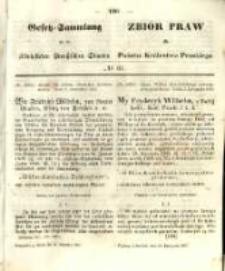 Gesetz-Sammlung für die Königlichen Preussischen Staaten. 1857.11.30 No61