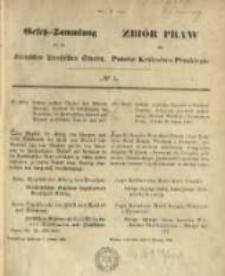 Gesetz-Sammlung für die Königlichen Preussischen Staaten. 1868.01.07 No1