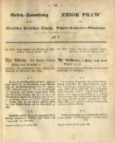 Gesetz-Sammlung für die Königlichen Preussischen Staaten. 1868.02.10 No7