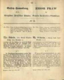 Gesetz-Sammlung für die Königlichen Preussischen Staaten. 1868.03.09 No13