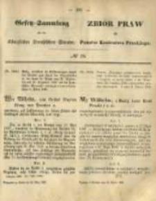 Gesetz-Sammlung für die Königlichen Preussischen Staaten. 1868.03.20 No18