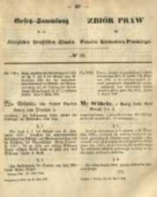 Gesetz-Sammlung für die Königlichen Preussischen Staaten. 1868.03.26 No19